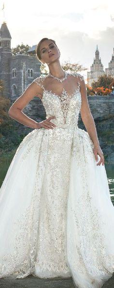 YSA Makino Couture Wedding Dresses 4   Deer Pearl Flowers