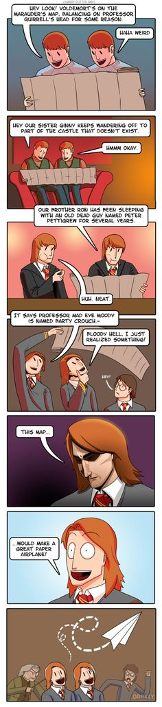 Funny pictures about Why The Weasley Twins Are The Dumbest Characters In Harry Potter. Oh, and cool pics about Why The Weasley Twins Are The Dumbest Characters In Harry Potter. Also, Why The Weasley Twins Are The Dumbest Characters In Harry Potter photos. Harry Potter Comics, Harry Potter Jokes, Harry Potter World, Ridiculous Harry Potter, Estilo Harry Potter, Yer A Wizard Harry, Weasley Twins, Ginny Weasley, Drarry