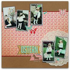 "Scrapperia - Layout  ""Ostern 1971"""