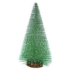 """Bottle Brush Tree with Wood Base Mint 12""""  -Threshold™"""