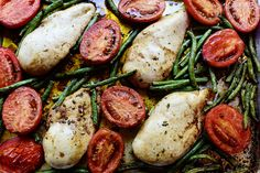 Italian Chicken Sheet Pan Supper by Ree