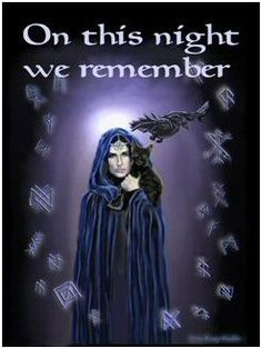 Winter Nights Begin, a time to remember our ancestors that have passed.