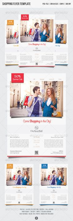 Jewelry Store Flyer \ Poster Template Template, Store and Logos - advertising poster templates