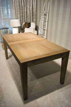 Vincent Sheppard Helsinki dining table, as featured in our latest interior scheme for luxury dining rooms - Ivory & Ecru