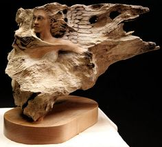 Against the Wind  Rick Cain Sculptor