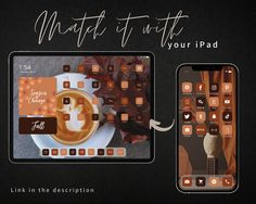 Fall Wallpaper, Wallpaper Wallpapers, Lion Games, Ipad Ios, Food Lion, Etsy Uk, Icon Pack, Facetime, App Icon