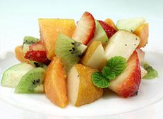 WHFoods: Fruit Salad with Papaya Seed Dressing