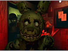 Five Nights At Freddy's 3 App by Scott Cawthon. Scary Apps.