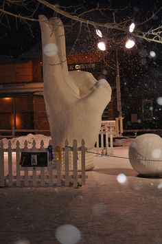 amazing breckenridge snow ice sculptures by tommyburkart, via Flickr