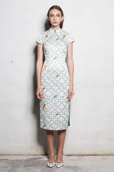Jady Qipao Oriental Fashion, Asian Fashion, Chinese Fashion, Crazy Outfits, Chic Outfits, Chinese Gown, Chinese Dresses, Fashion Wear, Fashion Outfits