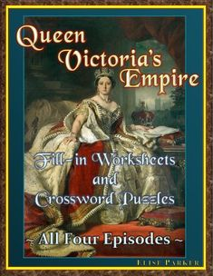 Queen Victoria's Empire Worksheet and Puzzle -- Episode Scramble for Africa Spanish Exercises, Empire Episodes, A Passage To India, Social Studies Resources, Teaching Resources, Sub Plans, Close Reading, English Language Arts