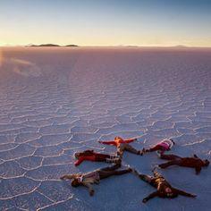 Salar de Uyuni? I'd love to see it after it has rained