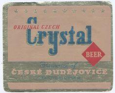 PEMD 1 ks stará etiketa CRYSTAL BUDVAR EXPORT 13 (6395917462) - Aukro - největší obchodní portál