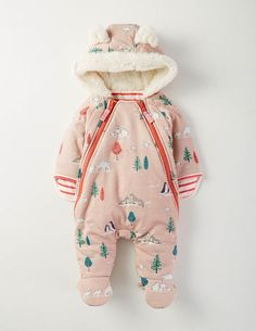 Girls Zip-up All-in-one 75039 All-In-Ones at Boden