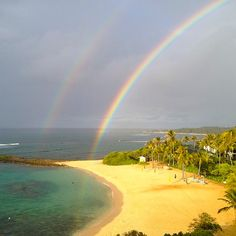Double Rainbow's in the sky Is always my Rainbow's Naru, Rainbow God always with Rainbow Nature God. Always forever & ever. Rainbow Sky, Over The Rainbow, Rainbow Colors, Aloha Travel, Rain Bow, Somewhere Over, Bougainvillea, Gods Creation, World Peace