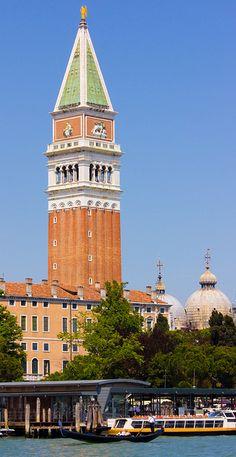 San Marco Campanile, Venice,Italy