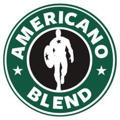 Captain America - Starbucks Parody by dgoring