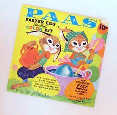Vintage Paas Easter Egg Decorating Kit