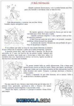 Atividades para imprimir - A Bela Adormecida: Conto Infantil — SÓ ESCOLA Anna, Personalized Items, Reading Projects, Tall Tales Activities, Literacy Activities