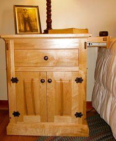 Secret Compartment Furniture Nightstand