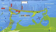 MapasBlog: Mapas de Cancun