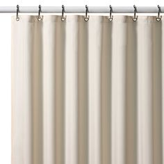 13-70x72 or 30$-70x84.White or ivory. Hotel Fabric Shower Curtain Liner. wekghted.   not rust proof?! sucktion cups. 107 4.5*