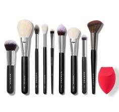 Get in on the hottest and newest arrivals in makeup, brushes, and beauty tools from Morphe before they're gone. Contour Brush, Concealer Brush, Lip Brush, Face Brush Set, Brush Sets, Makeup Brush Set, How To Apply Concealer, Contouring And Highlighting, Makeup Products