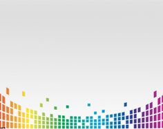 Colorful Equalizer Powerpoint Template is a nice background for PowerPoint that contains small squares that joined together are pretty similar as a digital equalizer PowerPoint background