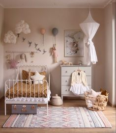 HOW TO MAKE THE MOST OF SMALL KIDS' ROOMS. girl's room with ikea bed. How to make the most of small kids rooms : ideas and examples - storage, bunk beds, using the right colours, diy, clever space saving furniture. Baby Room Boy, Baby Room Decor, Girl Decor, Baby Girls, Cama Ikea, Kids Room Design, Small Kids Rooms, Girl Kids Room, Ikea Girls Room