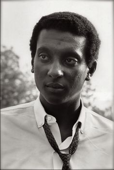"On May 1966 young Stokely Carmichael was named Chairman of the Student Non-Violent Coordinating Committee (SNCC) after organizing voter registration in Lowndes County, Alabama. He was later credited with coining the phrase ""Black Power. Black History Facts, Black History Month, Stokely Carmichael, Black Leaders, Black Panther Party, Vintage Black Glamour, Today In History, Power To The People, Civil Rights Movement"