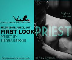 SPOILER FREE FIRST LOOK: Priest by Sierra Simone on Kindle Crack Book Reviews