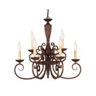 South Shore Decorating: Savoy House Lighting KP-1-5001-5-40 Liberty Transitional 5-Uplight Chandelier SVH-KP-1-5001-5-40