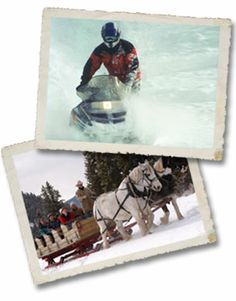 320 ranch.  Big Sky, Montana.  1 hour sleigh rides.  $35 per adult.   $20 per child under 12.