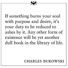 charles bukowski #quote