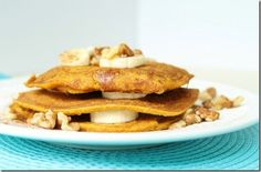 While looking for a pumpkin brownie recipe (which I found) I came across this blog full of wonderful baking recipies. Oatmeal, pumpkin pancakes! Oh My!