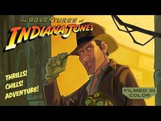 Indiana Jones gets the animated series we always wanted in amazing concept trailer   Blastr