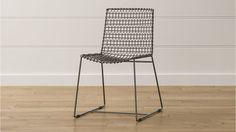 Tig Chair Welded Iron Rod + Tubing