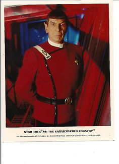 STAR TREK SPOCK LEONARD NIMOY MOVIE PHOTO DISTINGUISHED