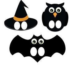 Lavoretti di Halloween da stampare - Maschere di Halloween da stampare