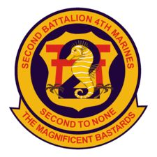 "2nd Battalion, 4th Marines Camp Pendleton ""The Magnificent Bastards"""