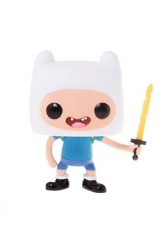 Adventure Time Pop! Finn Vinyl Figure