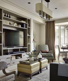 Большая семейная квартира в стиле фьюжн