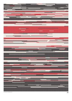 Visual Representation of Romeo and Juliet:  red - positive, grey - neutral, black - negative