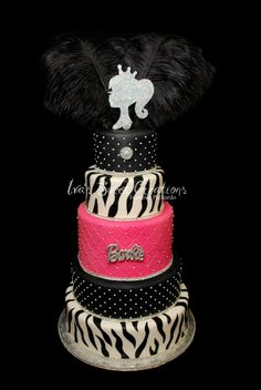 Barbie Cake By Iva1976 on CakeCentral.com