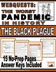 Webquest: The Black Plague--The Worst Pandemic in History Social Studies Resources, Teaching Social Studies, Reading Resources, Student Learning, Teacher Resources, Classroom Resources, Teaching Ideas, George Washington Facts, Middle School