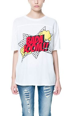 BADA BOOM T - SHIRT - T - shirts - TRF | ZARA United States