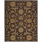 India House Charcoal (Grey) 8 ft. x 10 ft. 6 in. Area Rug