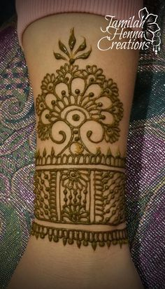 Henna Cuff  www.JamilahHennaCreations.com