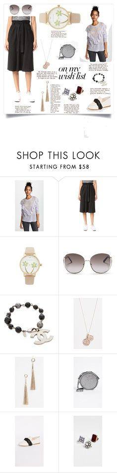 """""""On my wishlist"""" by gadinarmada-1 ❤ liked on Polyvore featuring Wildfox, Loup, Kate Spade, Millà, Chanel, Cloverpost, Rebecca Minkoff, Kara, Rachel Zoe and Marc Jacobs"""