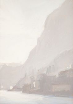 Diana Horowitz, Winter Fog from Menaggio (2015) | Artsy
